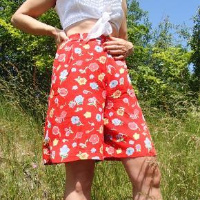 Vintage højtaljede shorts