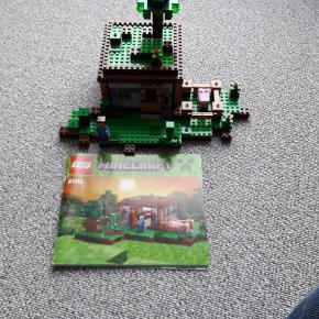 Lego Minecraft 21115 The first night  Som nyt - alle klodser er der  Fra røgfrit og dyrefrit hjem