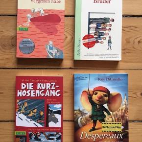 Forskellige tysksprogede børnebøger (10+). 10kr/stk