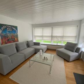 Super lækker sofagruppe købt i Ilva, fremstår som sprit NY!!! aldrig været brugt!! Nypris 26.000 NB! Prisen er ikke til forhandling!