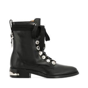 Fedeste støvler fra Toga Pulla. Brug med eller uden den brede snøre. Sælges da de desværre aldrig bliver brugt.
