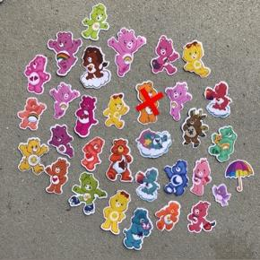 Care Bears klistermærker  2 for 5kr