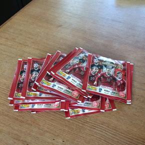 Fodboldkort, samlekort Der er 22 pakker  (Sender ikke)