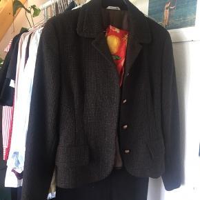 Italiensk New Wool tweed-jakke