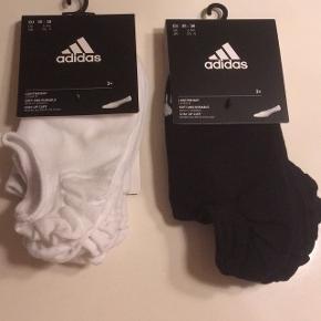 Adidas sokker str 35-38 3 par i hver pakke  100 kr pp