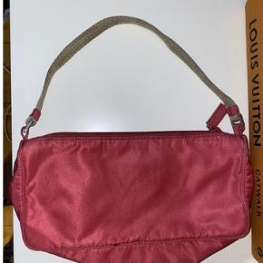 Vintage tessuto pink Prada 90 taske