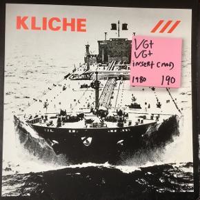 Kliché supertanker lp vinyl plade Se min andre plader