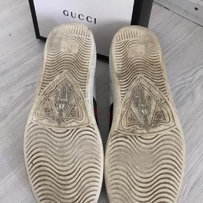 Gucci Ace bee Str 37 (fitter optil 38,5)  De er brugt hvilket også kan ses, men kan stadig godt bruges, da de udover dette ikke fejler noget.  Alt medfølger  Sælger kun hvis rette bud modtages