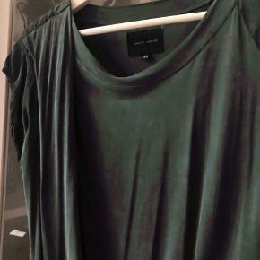 Brigitte Herskind green dress with drapings
