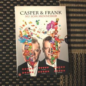 """Casper & Franks """"Nu Som Mennesker""""  Fremstår helt som ny og uden ridser eller andet tegn på slid  Hentes i 2800 eller sendes mod betaling :)"""