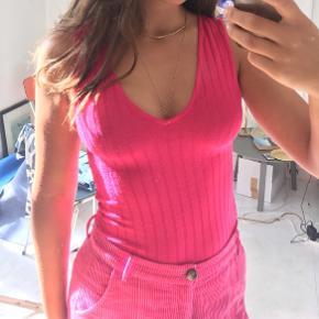 Pink bodystocking Kan passe af alle størrelser Lyserød  Tags: Zara h&m other stories 90'er