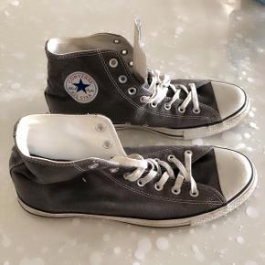 Converse grå sneakers-støvler str 44