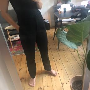 Sorte suit pants med klassisk fit