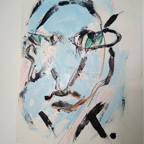 Sælger disse malerier UDEN Ramme. 200 kr. Inklusiv fragt 27 x 36  cm  Følg med på min profil, flere maleier kommer til salg