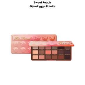 Too Faced Sweet Peach Øjenskygge Palette Fast pris plus Porto. Aldrig brugt kun swatched