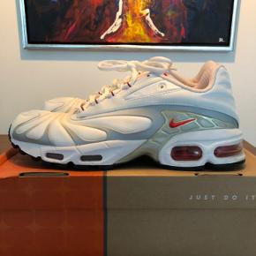 Nike Air Tailwind 5+ fra 2005 Box, kvit og ekstra laces medfølger Stort ser ubrugt og en rigtig hård sko til pengene