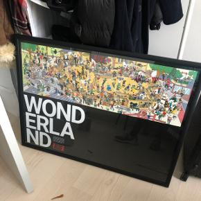 70x100 with frame - no delivery just pick up