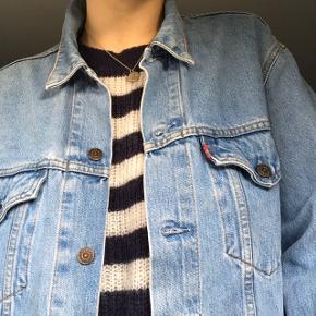 Levi's lyseblå denim jakke