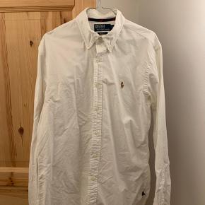 Polo Ralph Lauren skjorte i hvid str. L, slim fit. Er som helt ny
