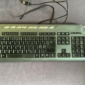 Acer tastatur til PC sælges, da jeg har købt et andet. Fejler intet