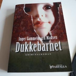 Dukkebarnet af Inger Gammelgaard Madsen, spændende krimi,  10kr