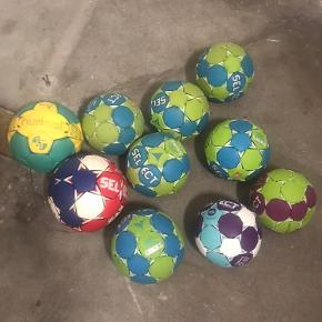 Håndbolde str 3-1.5-1 og mini som nye.