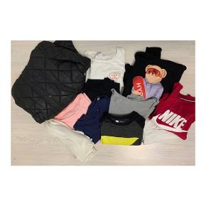 Samlet tøjpakke med tøj i størrelse medium.  Alt sælges samlet til 150kr