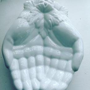 Porcelæns sæbe/smykkeskål