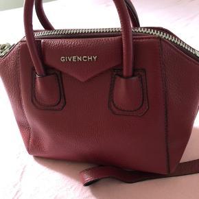 Repilica Ny bodo rød taske - aldrig brugt - med dust bag Lang skulderrem Ægte læder