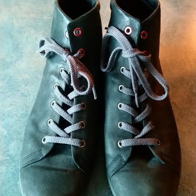 Støvler, str. 39, Ecco, Sort, Læder, Næsten