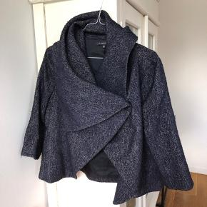 """Dark Blue """"cardigan-jacket"""". Used a couple of times."""