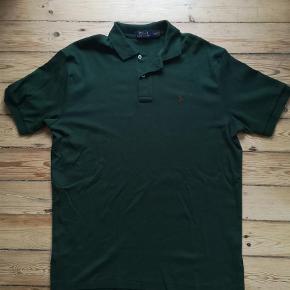 Varetype: Polo Farve: Grøn Oprindelig købspris: 700 kr. Prisen angivet er inklusiv forsendelse.  Ralph Lauren Polo, brugt få gange.  Byd