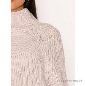 Virkelig lækker strik/sweater 95% uld og 5% kashmir. Brugt 3-5 gange og vasket i hånden en enkelt gang.