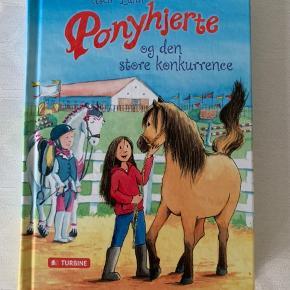 Bogen Ponyhjerte og den store konkurrence af Usc Luhn. Som ny. Kan sendes for 39 kr.
