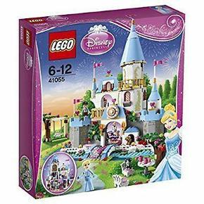 Varetype: disney prinsesser 41055 og 41053 Størrelse: alm Farve: se  Uden æske, men med manual    Bygget en gang.     Askepot mangler til karet, men er med slottet