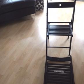 Ny stole fra Ikea  Aldrig brugt   Begge for 150 Dkk