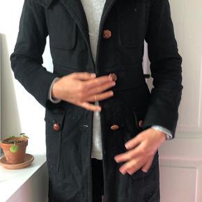 Frakke i uld Str. Small/medium