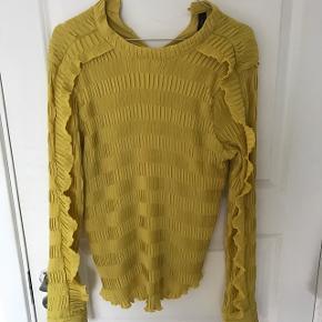 Flot gul bluse fra YAS - str M/L