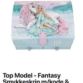 Flot Top Model smykkeskrin med kode og musik☺️ Aldrig brugt ☺️