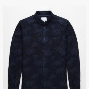 Norse Project mørkeblå skjorte str xl