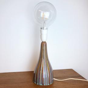 Søholm lampe. Lyspære medfølger ikke. Bemærk den smukke glasur.