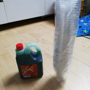 Slush ice 2 liter giver 12 L og kopper
