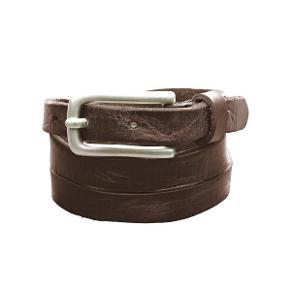 Smaldt, brunt læder bælte fra Libeskind Berlin. Bæltet måler 110 cm, 2 cm. bredt. Super til et par jeans.