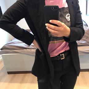 Oversized jakke/blazer med lommer