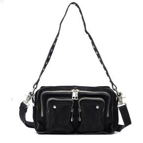 Sælger min mega fine nunoo taske i modellen ellie, og i sort ruskind. Den er i god stand, men der er lidt slid rundt omkring på tasken