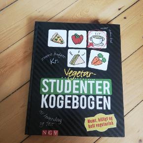 Fed vegetar studenter kogebog. Billige, simple og lækre retter.
