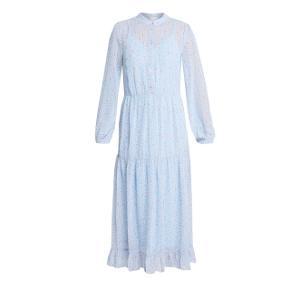 Sælger denne her mega populære vila kjole som jeg har fået så mange efterspørgsler på Jeg ved at den er udsolgt overalt i Århus Jeg måler cirka 164 i højde så den kan sagtens passe af en small  Byd