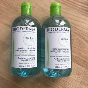 Helt nye og uåbnede Bioderma Sébium makeupfjerner / rensevand.  Mindst holdbar til juli 2021.  Afhentningspris er 175,-   Prisen er fast.   1 flaske sælges for 100,-