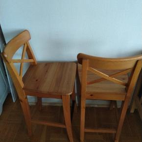 2 Ikea Ingolf Barstole Købspris 1000,-