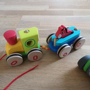 Traktor med vogn og mand, træktog med anhænger hest. Fra fætter br's eget mærke. Alm brugstegn på begge. Prisen er samlet 😊 for begge 😁